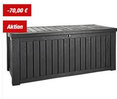 Bild zu Keter Rockwood Holz-Optik 570 Liter Kissenbox ab 99,99€ (VG: 146,99€)
