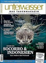 Bild zu Jahresabo (12 Ausgaben) der Zeitschrift Unterwasser für 82,60€ + Prämie bis zu 80€