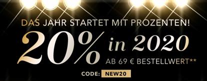 Bild zu Douglas: 20% Rabatt auf nichtreduzierte Artikel ab 69€ Bestellwert