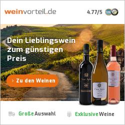 Bild zu Weinvorteil: Bis zu 10€ Rabatt oder 10% Rabatt (abhängig vom Bestellwert)