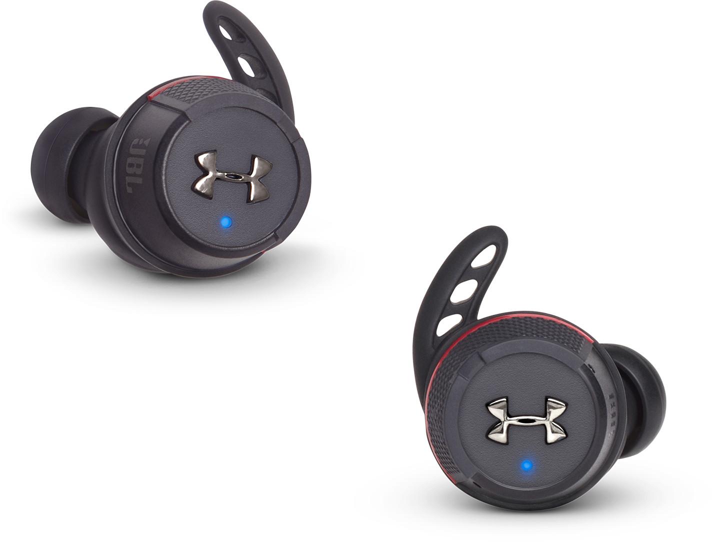 Bild zu Bluetooth Kopfhörer JBL Under Armour True Wireless Flash für 105,90€ (Vergleich: 126,48€)