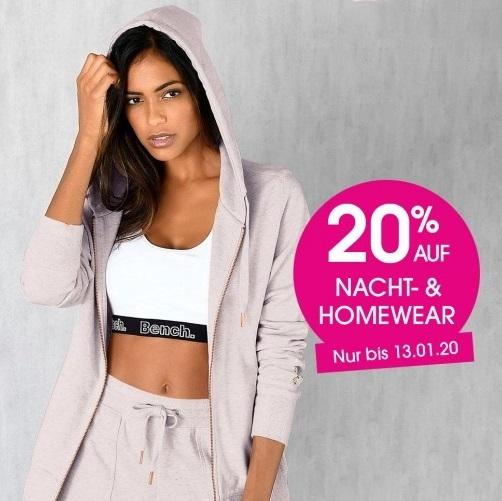 Bild zu Lascana: 20% Rabatt auf Nacht- und Homewear