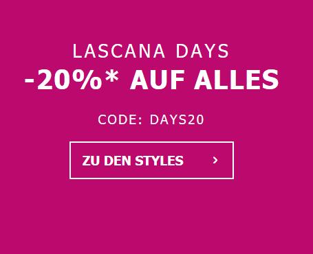 Bild zu Lascana: 20% Rabatt auf alle Artikel im Shop