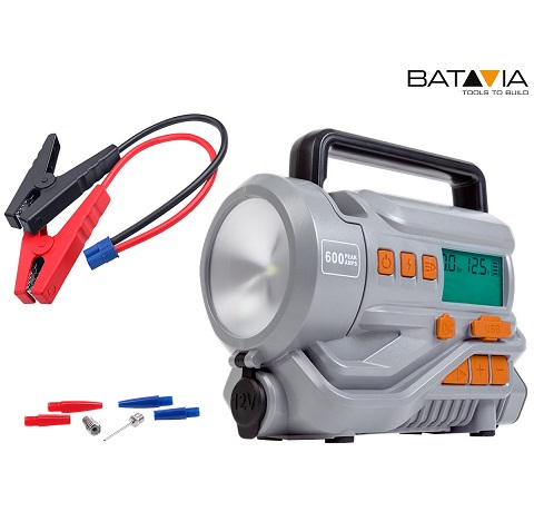 Bild zu Batavia Maxx Series Mobile Energiestation und Kompressor für 55,90€ (Vergleich: 119,94€)