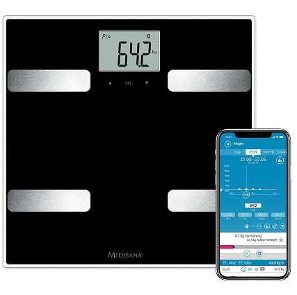 Bild zu Medisana Connect Körperanalysewaage BS A41 für 25,90€ (Vergleich: 48,85€)