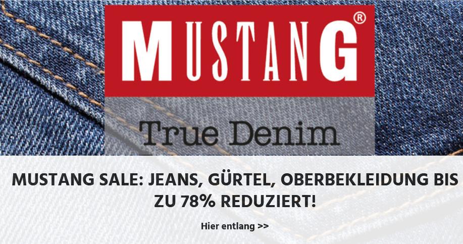 Bild zu Jeans-Direct: Mustang Sale mit bis zu 78% Rabatt auf viele Artikel