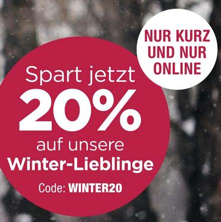 """Bild zu Reno: 20% Rabatt auf ausgewählte Artikel der Kategorie """"Winter-Lieblinge"""""""