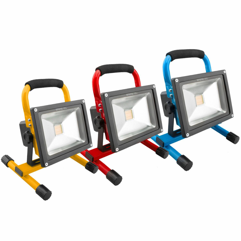 Bild zu Ninetec 20W LED-Akku-Flutlichtstrahler für 27,77€ (Vergleich: 30,99€)