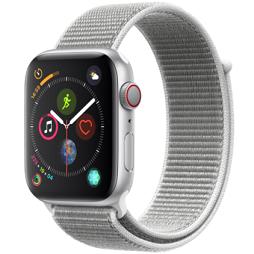 Bild zu 44 mm Apple Watch Series 4 LTE mit Aluminiumgehäuse und Sport Loop für 399,90€ (Vergleich: 446,99€)