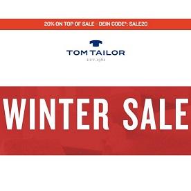 Bild zu Tom Tailor: Bis zu 50% Rabatt im Winter Sale + 20% Extra-Rabatt auf alle Sale Artikel