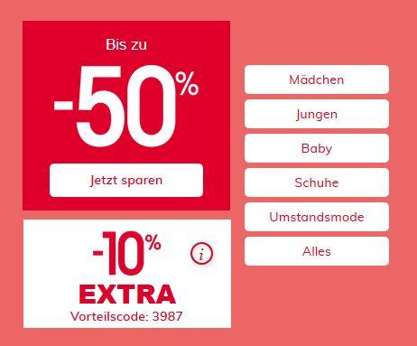 Bild zu Vertbaudet: Bis zu 50% Rabatt im Sale + 10% Extra Rabatt