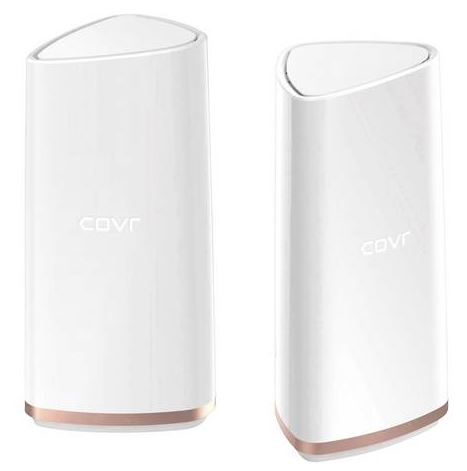 Bild zu [BEST-PREIS] 2er Set D-Link COVR AC2200 Tri-Band Wi-Fi System WLAN Repeater (2.4GHz, 5GHz) für 105,45€ (VG: 216,30€) dank Gutschein