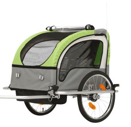 Bild zu FISCHER 86388 Kinder-Fahrradanhänger für 124€ (VG: 169,99€)