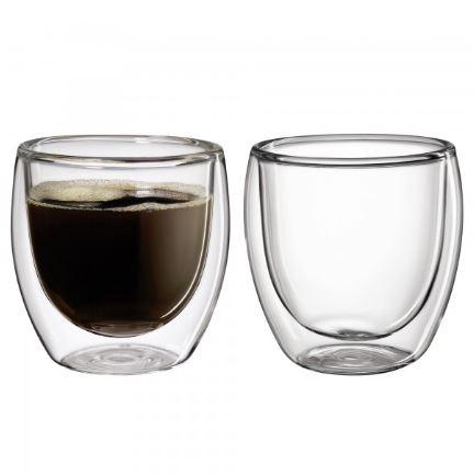 Bild zu Cilio Kaffeeglas im Set (250ml, 2-teilig) für 10,54€ (VG: 21,95€) dank Gutschein