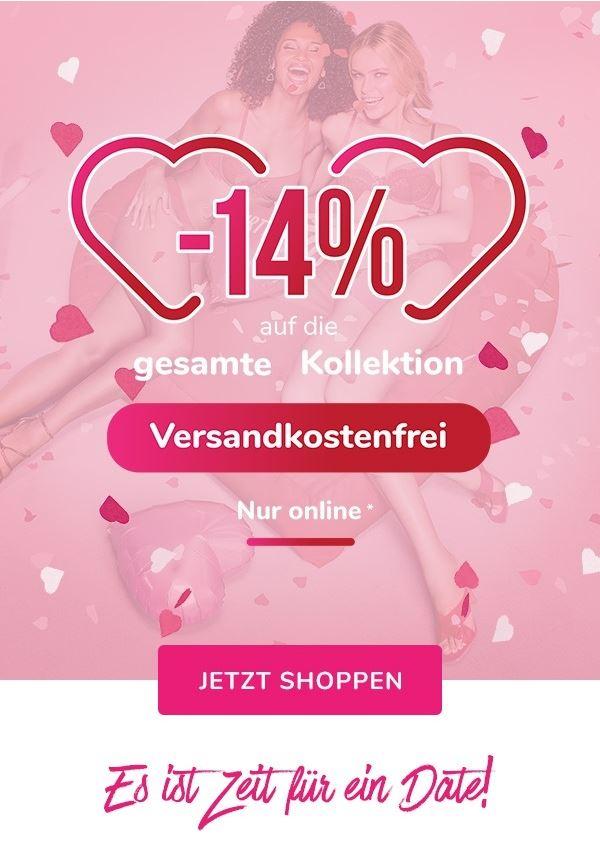 Bild zu Hunkemöller: Valentinsaktion 14% auf die gesamte Kollektion