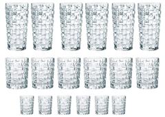 Bild zu Nachtmann Gläser-Set »Bossa Nova« (18-tlg) aus Kristallglas für 55,99€ (Vergleich: 75,94€)