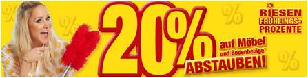 Bild zu Poco: 20% Rabatt auf Möbel & Bodenbeläge