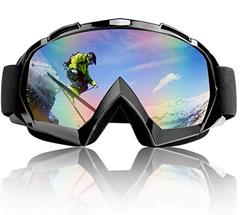 Bild zu TolleTour Ski-/Snowboardbrille (UV-Schutz, Anti Nebel, für Brillenträger geeignet) für 9,59€