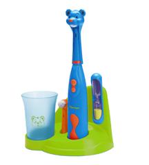 Bild zu MediaMarkt – Zahnpflege Aktion, z.B. BESTRON Bobby Bär elektrische Zahnbürste für Kinder für 13€
