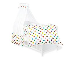 Bild zu Pinolino Set für Kinderbett 4-tlg. Dots für 61,65€