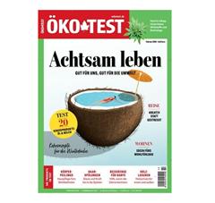 """Bild zu Jahresabo (12 Ausgaben) der Zeitschrift """"Ökotest"""" für 58,92€ + bis zu 45€ Gutschein als Prämie"""