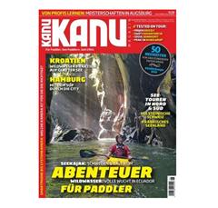 """Bild zu Jahresabo (6 Ausgaben) der Zeitschrift """"Kanu Magazin"""" für 38,80€ + bis zu 40€ Prämie"""