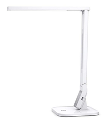 Bild zu TaoTronics LED Tischlampe (dimmbar, mit 4 Farbmodi, 5 Helligkeitsstufen, 5V/1A USB-Ladeanschluss, Touchsteuerung) für 25,99€