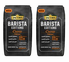 Bild zu JACOBS Kaffeebohnen Barista Editions Crema Intense (2 kg, ganze Bohne) für 18,90€ (Vergleich: 27,95€)