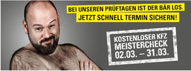 Bild zu Vergölst Servicewochen – GRATIS Meister-Check vom 02.03. bis 31.03.
