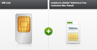 Bild zu mobilcom-debitel Telefonica Free Unlimited Max (Unbegrenztes LTE Datenvolumen, Allnet-/SMS-Flat, 24GB EU-Roaming) für 34,99€/Monat + iPhone 7 für einmalig 4,95€