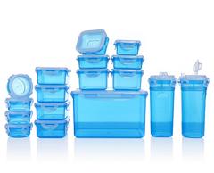 Bild zu LOCK&LOCK 17 Frischhaltedosen luft- & aromadicht (stapelbar, 100ml-4,5l) für 19,99€