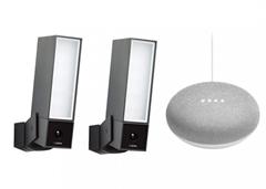 Bild zu Doppelpack Netatmo Presence Outdoor-Sicherheitskamera + gratis Google Home Mini für 479,95€ (Vergleich: 552,98€)