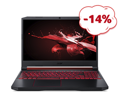 Bild zu Acer Nitro 5 (AN515-54) Gaming-Notebook (Intel Core i5-9300H, Full HD, 8 GB RAM, 512 GB SSD, NVIDIA GeForce GTX 1050) für 773,14€ (Vergleich: 899€)