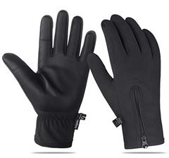 Bild zu Unigear Touchscreen Handschuhe (wasserdicht, atmungsaktiv, winddicht, gefüttert) für 4,79€
