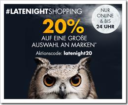 Bild zu Galeria: bis 24 Uhr 20% Rabatt auf eine große Auswahl an Marken im Onlineshop
