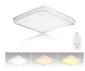 Bild zu Hengda 64W LED Deckenleuchte mit Fernbedienung für 37,49€