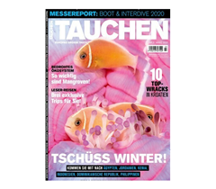 """Bild zu 12 Ausgaben der Zeitschrift """"TAUCHEN"""" für 93,60€ + 85€ Amazon Gutschein als Prämie für den Werber"""