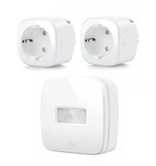 Bild zu 2er-Pack Eve Energy Smarte Steckdose + gratis Eve Motion für 99,95€ (Vergleich: 123,49€)