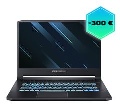 Bild zu Acer Predator Triton 500 (15,6″) Gaming Notebook (Full HD IPS 144Hz, i7-9750H, RTX 2060, 16GB RAM, 512GB SSD, Win 10) für 1.699€ (Vergleich: 1.999€)