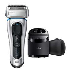 Bild zu Braun Series 8 8370cc Elektrischer Rasierer inkl. Reinigungs- und Ladestation für 159€ (Vergleich: 177,57€)