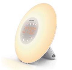 Bild zu [generalüberholt] PHILIPS Wake Up Light HF3505/01 Lichtwecker für 34,99€ (Vergleich: 59,99€)