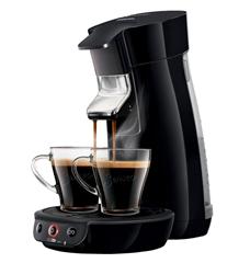 Bild zu PHILIPS Senseo Viva Café HD6561/69 Kaffeepadmaschine für 53,99€ (Vergleich: 79,99€)