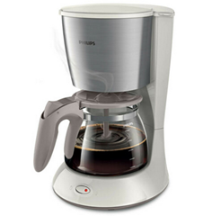 Bild zu PHILIPS Daily Collection HD7462/01 Kaffeemaschine 1,2 l weiß für 19,99€ (Vergleich: 41,99€)