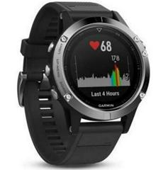 Bild zu Garmin fenix 5 Smartwatch silber mit schwarzem Armband für 279€ (Vergleich: 329€)