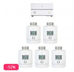 Bild zu innogy SmartHome Starter Set Heizung mit 5 Thermostaten für 189,95€ (Vergleich: 336,68€)