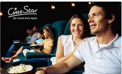 Bild zu 3 x CineStar Kino-Gutschein für jeden Tag und alle 2D-Filme inkl. Zuschlägen für 19,50€ (6,50€ pro Ticket)