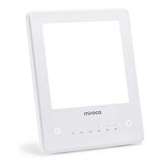 Bild zu Miroco Tageslichtlampe mit 3 Helligkeitsstufen (10000 Lux, 60 Min Timer, UV-frei) für 16,99€