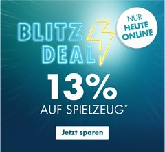 Bild zu Galeria.de: nur heute 13% Rabatt auf Spielzeug