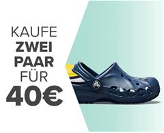 Bild zu [verlängert] Crocs: 2 Paar für 40€ + kostenloser Versand