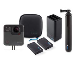 Bild zu GoPro Fusion Action Kamera + Fusion Grip + zweiten Akku für 299,99€ (Vergleich: 361,66€)